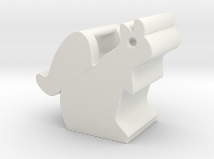 Obie the Oberlin Squirrel 3d printed