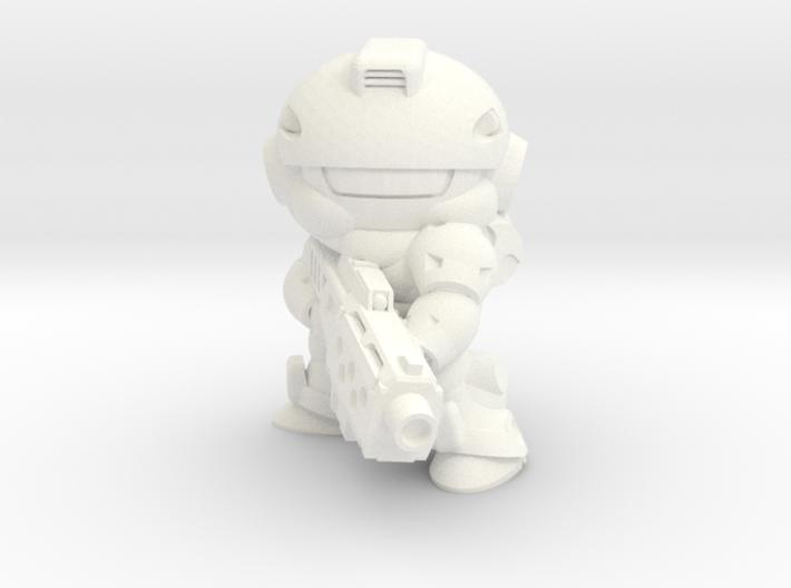 VIPER - MGUN - (EYES LEFT) 3d printed