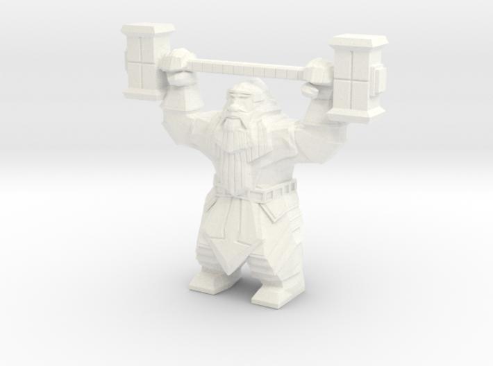 Dwarvon Paragon for Wargaming terrain 3d printed