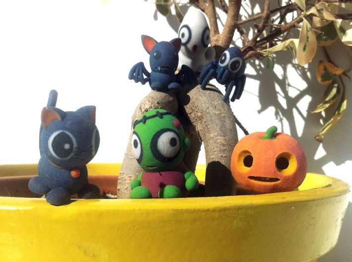 HALLOWEEN COLLECTION 3d printed