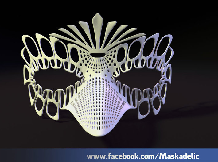 Party Mask 'NeverMore' 3d printed NeverMore