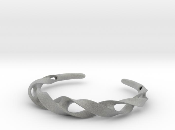 Ribbon Möbius bracelet - Large 3d printed