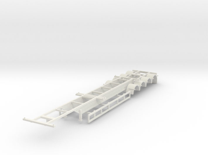 000470 Australia Container Trailer HO 3d printed