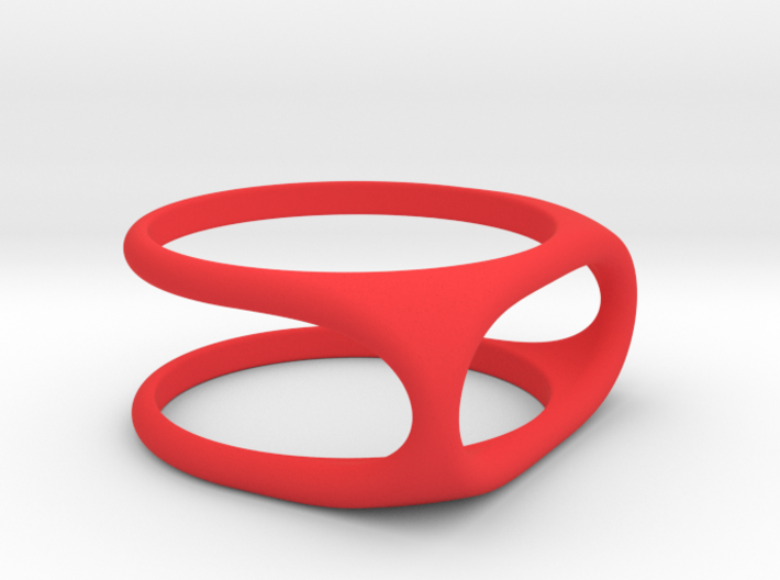 Nested Rings: Outer Ring (Size 10) 3d printed