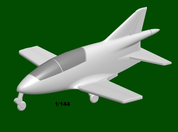 Bede BD-5A Micro, scale 1/144 3d printed