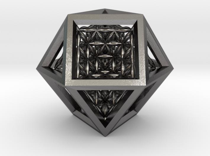 Super Vector Equilibrium 3d printed