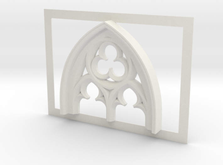 Gothic Window Detail  3d printed