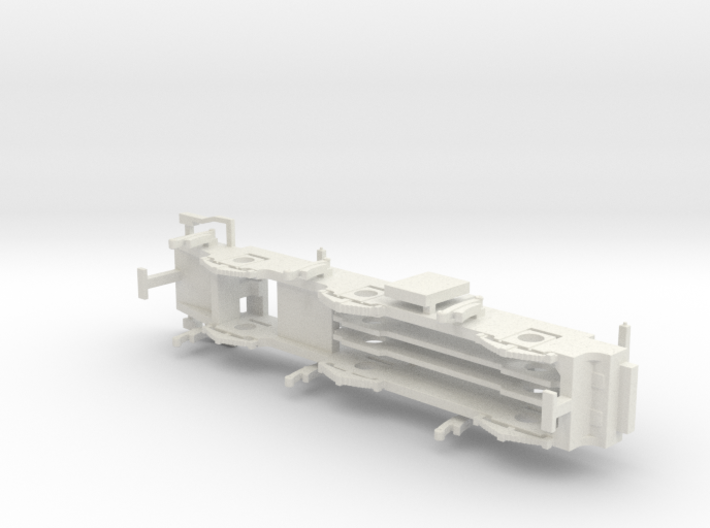 L&YR Class 28 - EM Chassis 3d printed