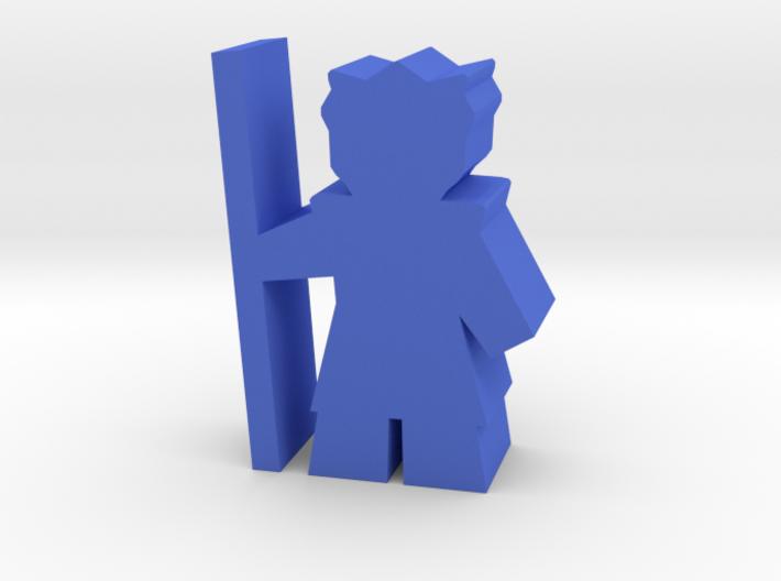 Game Piece, Bone Federation Warrior 3d printed