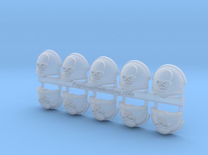 Mortifactors = Terminator Shoulder x10 3d printed