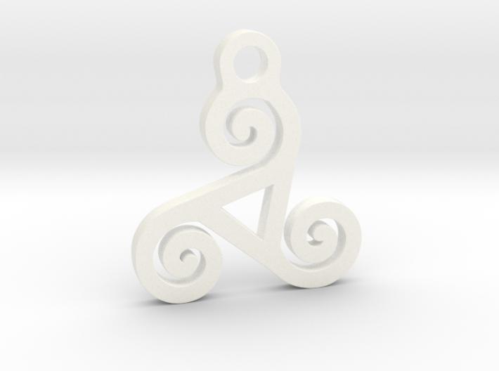 Triskelion Pendant 04 3d printed