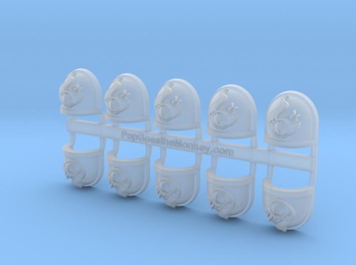 Tzeentch 1 - Gen7:Standard Shoulder x10 3d printed