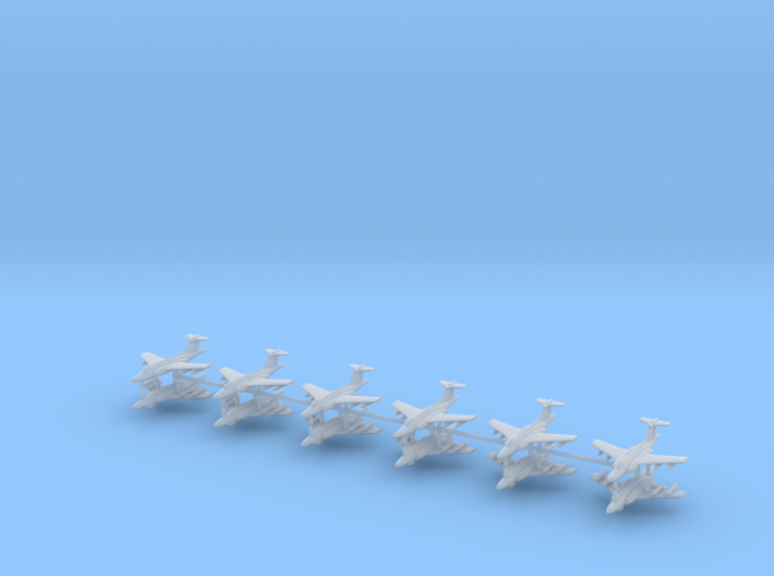 1/600 Buccaneer (x12) 3d printed