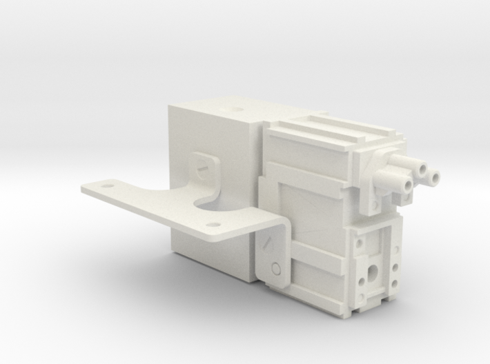 Hengstler Counter Case With Bracket 3d printed
