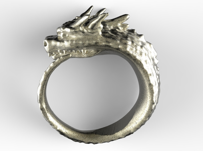 Spike Dragon's Ring 3d printed