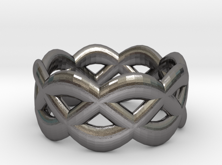 Turk's Head Ring 3d printed