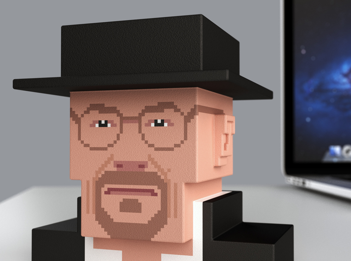 Breaking Bad Heisenberg (small) 3d printed