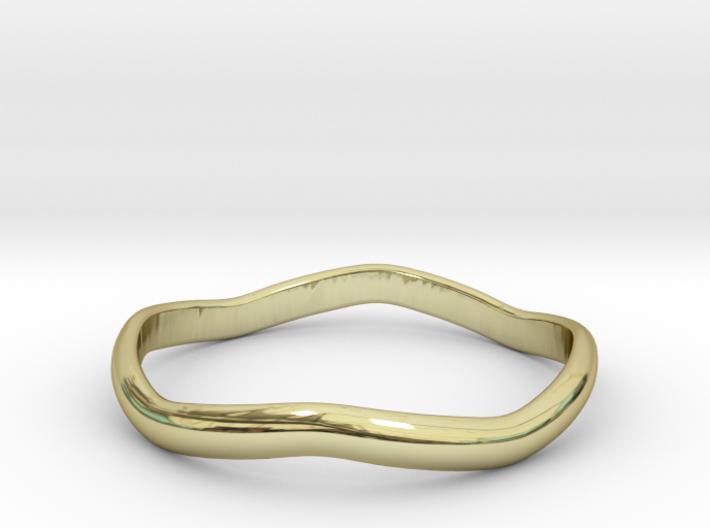 Ring Weaved Shape Design Size 5.5 3d printed
