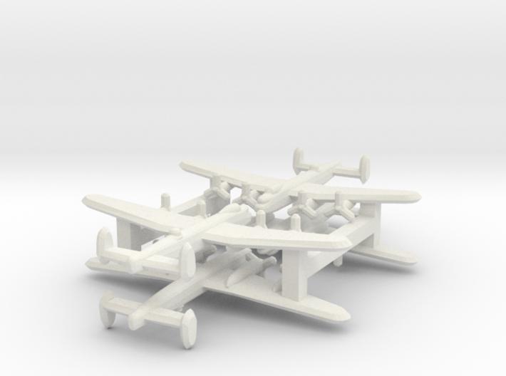 Avro Lancaster 1/900 x4 3d printed