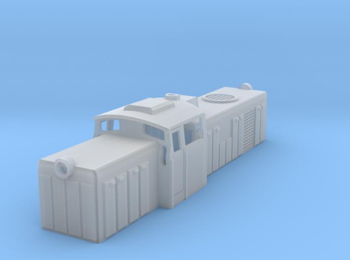 SM42 Diesel Loco Z Scale 3d printed SM42 European Loco Z scale