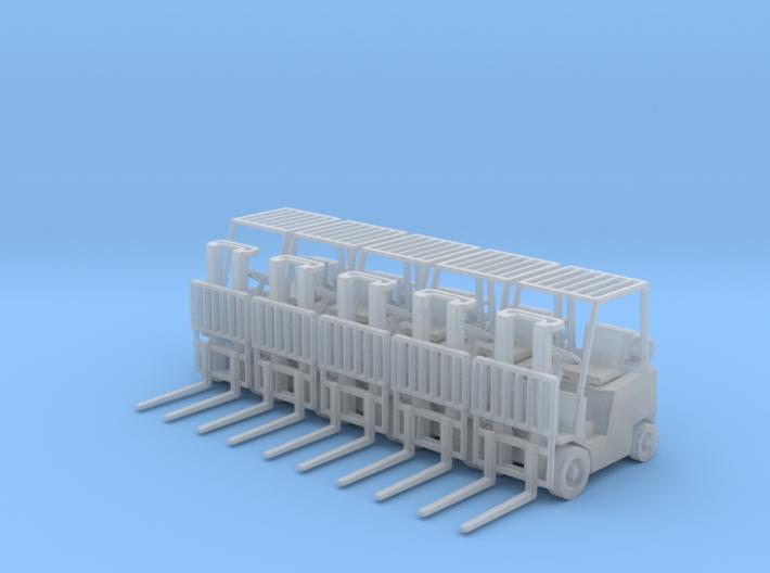 Yale Forklift (Narrow Fork)(N - 1:160) 5X 3d printed