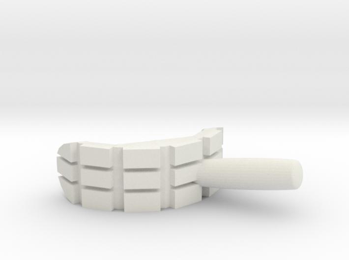 Bender Mouth Cigar 3d printed