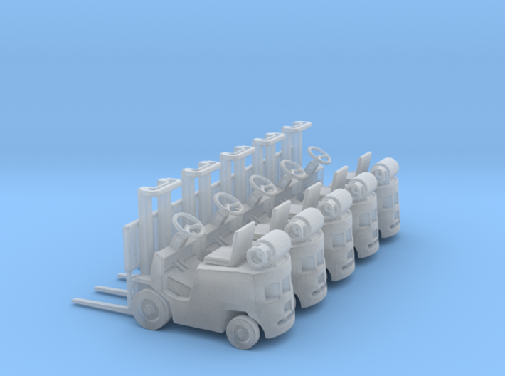 Early LPG Forklift (N - 1:160) 5X 3d printed