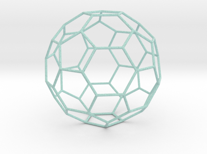 0472 Truncated Icosahedron E (18.5 см) #007 3d printed