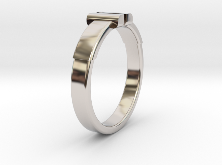 Back To The Future Ring Ø20.2 mm/Ø0.795 inch 3d printed
