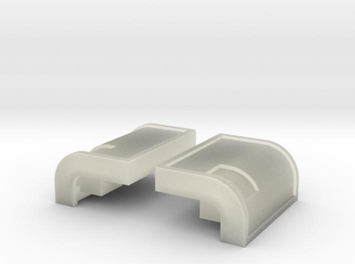 065001-01 Tamiya Clodbuster Taillight Lenses, 2/2 3d printed