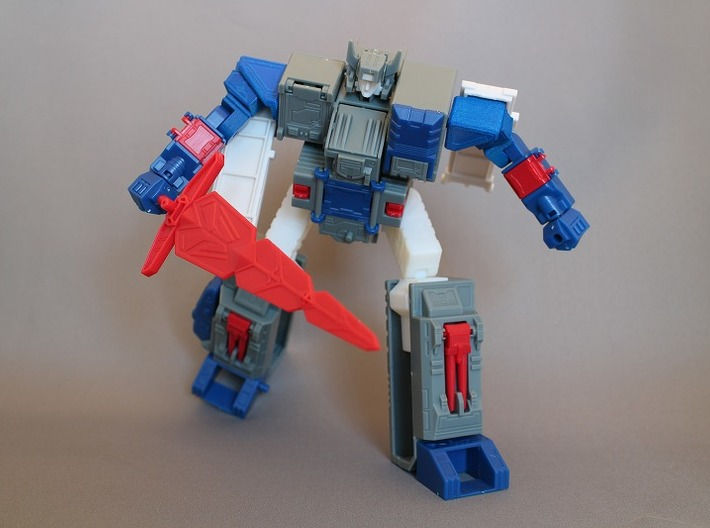 Transformers Gum Fortress Maximus Add-on Parts 3d printed