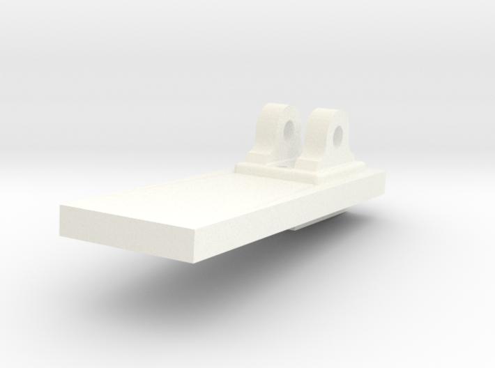 1:24 scale Royal Navy 18 Lb Carronade Pivot 3d printed