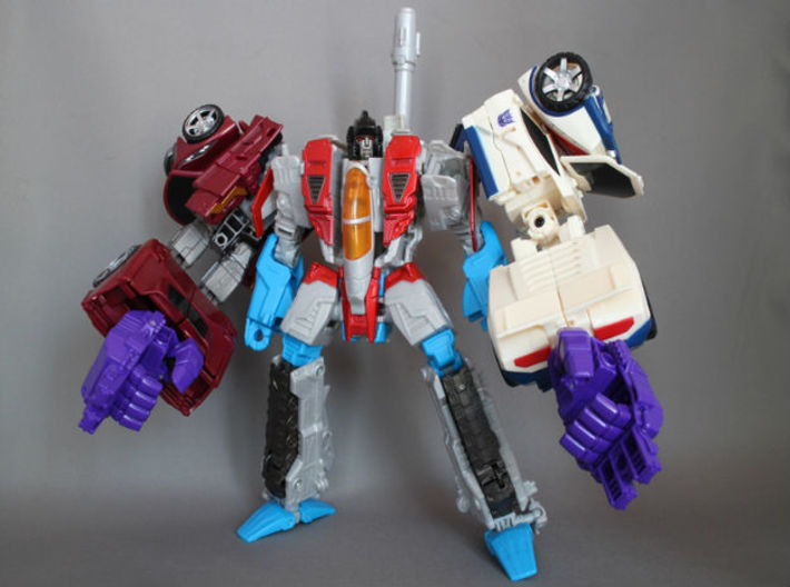 Combiner Wars joint(CW female joint and 5mm peg) 3d printed