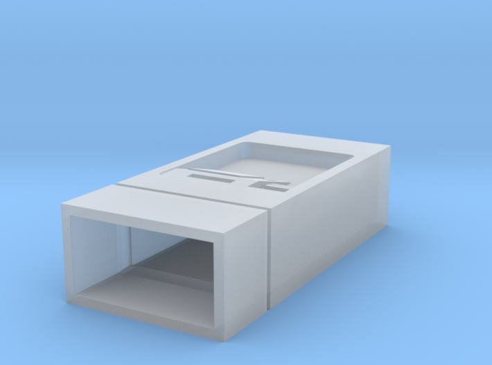 NSB Billettautomat 1/87 3d printed