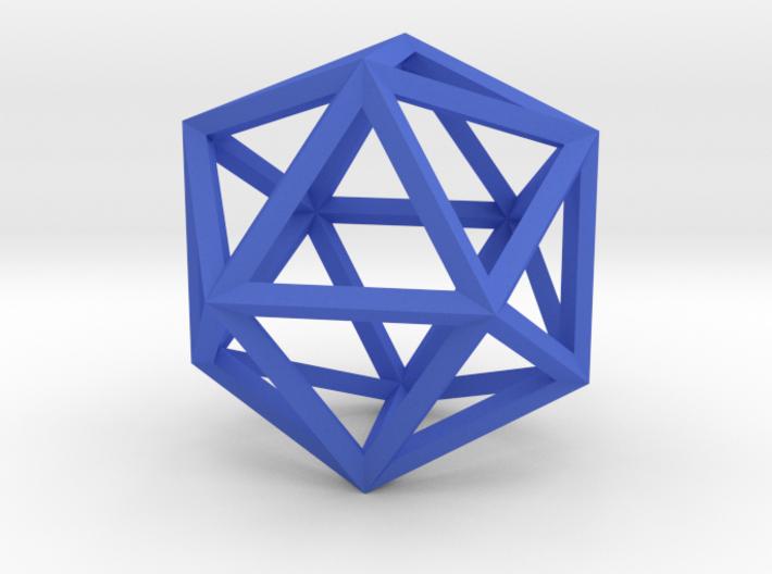 Icosahedron(Leonardo-style model) 3d printed