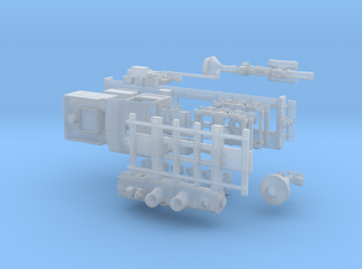 Nn3 Scale Class B Shay 3d printed