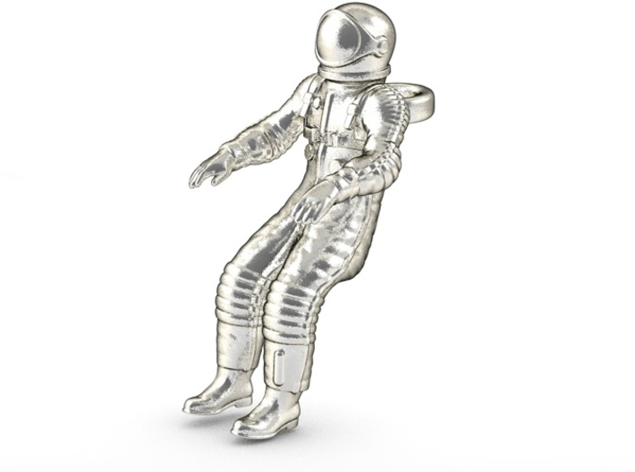 Floating Cosmonaut / Astronaut (40mm) 3d printed