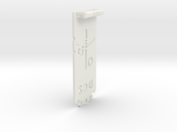 OR V2 Chassis - Part 3b of 4 - Blank Tray 3d printed