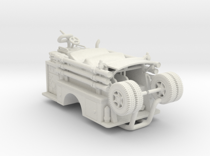 Mack Pumper Body 1:64 3d printed