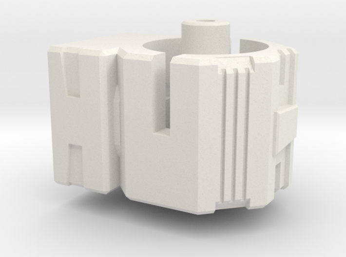 CW Brawl To Energon Combiner Port Adapter 3d printed