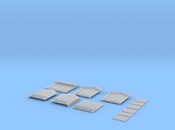 NAQ23 Platform shelter 3d printed