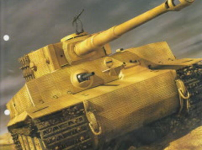 1/16 Tiger I Upper Fuel Tanks 3d printed