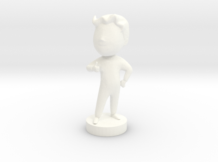 Charisma Bobblehead ⅙ Scale 3d printed