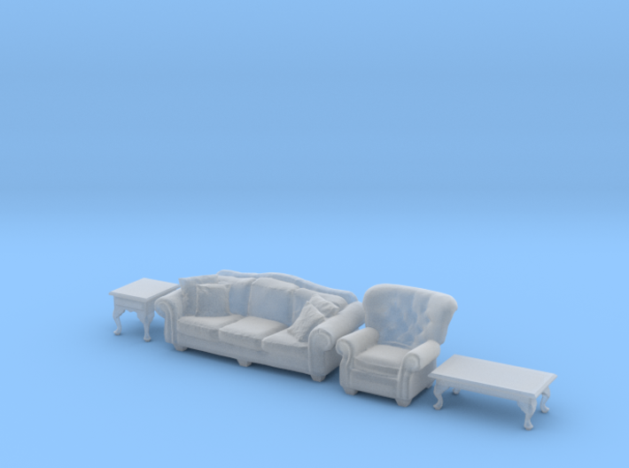 1:35 Living Room Set 3d printed