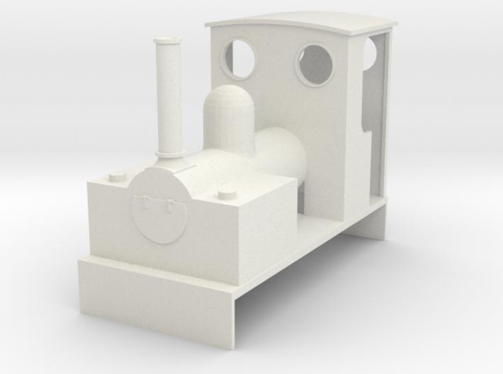 0-16.5 Bagnall 0-4-0 for Dapol Pug 3d printed