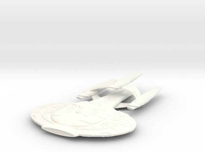 Wildwind Class VII BatteCruiser 3eng 3d printed