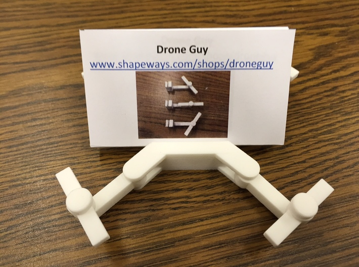 Folding Drone Business Card Holder 3d printed