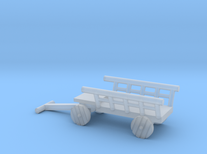 Mittelalter Transportkarren - 1:220 (Z scale) 3d printed