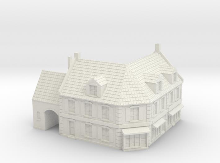 1:285 Corner House 1 3d printed