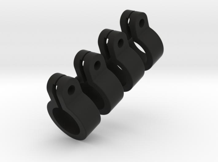 045003-01 Ampro Adjustable Shock Collar, Tamiya Ho 3d printed